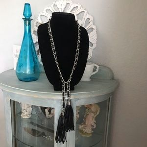 Chico's Tassel Necklace